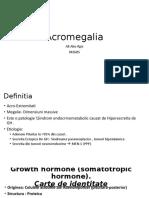 Acromegalie