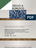 NÚMEROS EN PORTUGUES