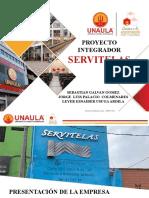 PROYECTO INTEGRADOR 2020-1 PRESENTACION