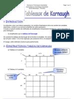 Cours Sur Les Tableaux de Karnaugh