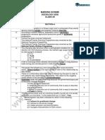 CBSE Class 12 Sociology Marking Scheme Question Paper 2019-20
