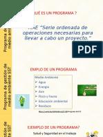 Estructura para un Programa Evidencia 7
