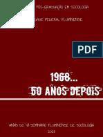ANAIS DO VII SEMINÁRIO FLUMINENSE DE SOCIOLOGIA, 2018. PPGS - UFF