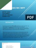 DIFERENCIAS NIC-NIF