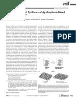 Graphene Silver Composites Small Paper