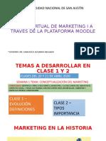 sem 1 CLASES 1 Y 2 CONCEPTUALIZACIÓN DEL MERCADO