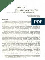 Aula 10.  Sobre a teoria da nominação em J. Lacan. Guerra, A; Andrade, H.