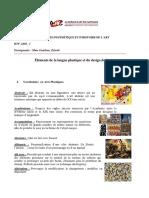 ELEMENTS D'ESTHETIQUE ET DE L'HISTOIRE DE L'ART