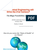 How Chemical Engineering Will Drive the 21st Century