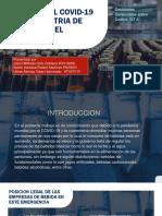 IMPACTO DEL COVID-19 EN LA INDUSTRIA DE BEBIDAS