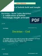 Doctrine - UESI 2012