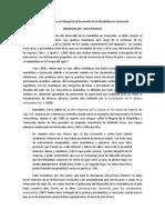 Proceso Histórico Con Respecto Al Desarrollo de La Mandolina en Venezuela