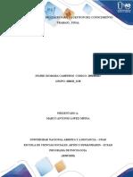 trabajo final HERRAMIENTAS DIGITALES PARA LA GESTION DEL CONOCIMIENTO
