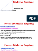 Bargaining Process