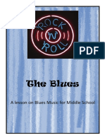 Blues Music lesson for Middle School