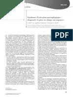 Archives de Pédiatrie Volume 22 issue 5 2015 [doi 10.1016%2FS0929-693X%2815%2930071-3] Pillet, P.; Lagarde, M.; Bailhache, M.; Berciaud, S.; Richer, O. -- Syndrome d'activation macrophagique- diagnost