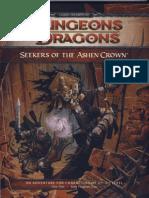 [EBERRON] Seekers of the Ashen Crown