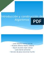 Introducción y construcción de Algoritmos