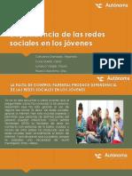 Dependencia de Las Redes Sociales en Los Jóvenes