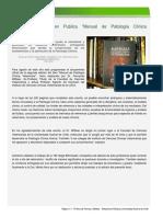Dr. Fernando Wittwer Publica Manual de Patología Clínica Veterinaria