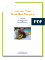 Summertime Smoothie Recipes