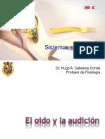 Sistema sensorial de la audición 2