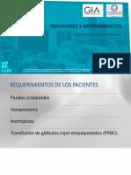 INFUSIONES Y MEDICAMENTOS