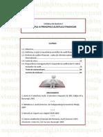 Audit Financiar - UI 1: Scopul Si Principiile Auditului Financiar
