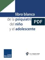 Libro blanco Psiquiatria de Niños y Adolescentes