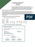 refuerzo de matematicas 8  periodo I