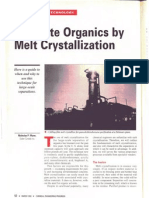 Melt Crystallization