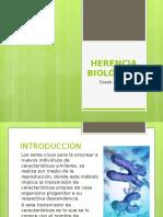 HERENCIA BIOLÓGICA