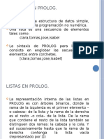 3.2 listas - Prolog