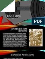 PESAS 803