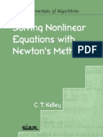 Solving Nonlinear Equations With Newton's Method