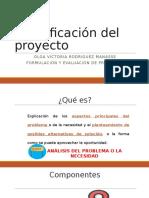 3. Componentes de la identificación de un proyecto