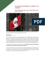 Clima de negocios peruano en deterioro. Cuánto impacta en la economía