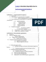 932 Cercetarea Comportamentului de Cumparare La Grupa de Produse Agroalimentare