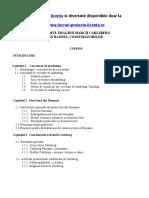 933 Cercetarea de Marketing. Studierea Imaginii Marcii Unui Produs in Randul Consumatorilor Din Rom