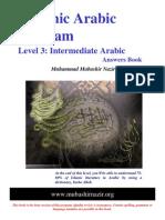 Arabic Grammar - Level 03 - English Answers