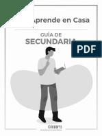 Guía de Aprendizaje en Casa_Secundaria