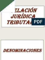 RELACION JURIDICA TRIBUTARIA 1 parte