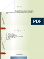 Fase 5. Organización y análisis datos experimentales
