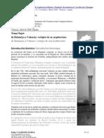 De Balansiya Á Valence_ Vestiges de Son Architecture
