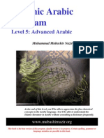 Arabic Grammar - Level 05 - English Answers