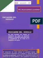 Encuadre del curso M12 Responsabilidad y punibilidad