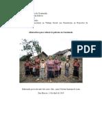 POBREZA EN GUATEMALA Y TEORIA MEDIOS DE VIDA SUSTENTABLES