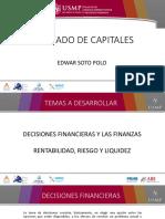 1DECISIONES FINANCIERAS Y LAS FINANZAS