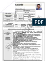 Mohamed Monir Resume - 2003 Updated