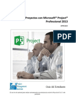 Administra Projectos con MS Project 2013